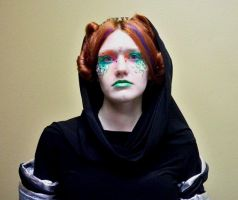 Sci-Fi Hair and Makeup by Divulged