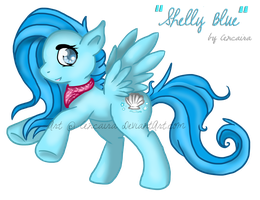 MLP OC: Shelly Blue by Fayven