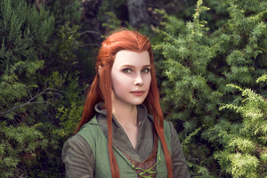 Forest portrait by Karenscarlet