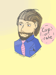 Corp-or-rate business by Theriyaki