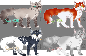 Set Price | Cat Adoptable | OPEN| NUMBER 2 IS OPEN by Sage-2018