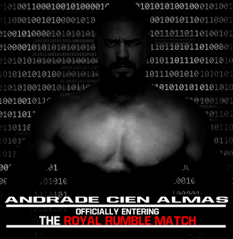 Andrade Cien Almas enters the Royal Rumble Match by FWAWorld