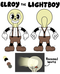 Elroy the Lightboy Reference by Duplicant