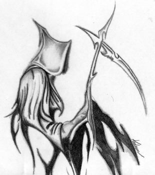Grim Reaper by Whyuplagueme