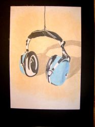 Headphones, part one by Cyv