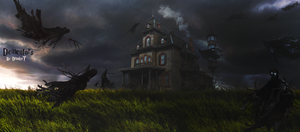 Dementors by DraakeT 2200x966 Final by DraakeT