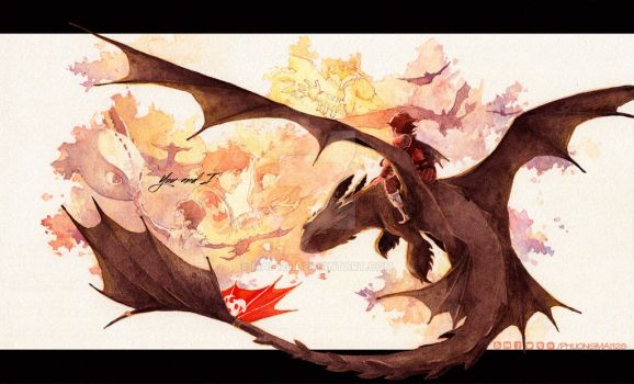 [HTTYD Discover Your Duo contest] Farewell, bud! by MAi-128