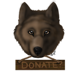 Wolf Head - Donate by sweetheartmika