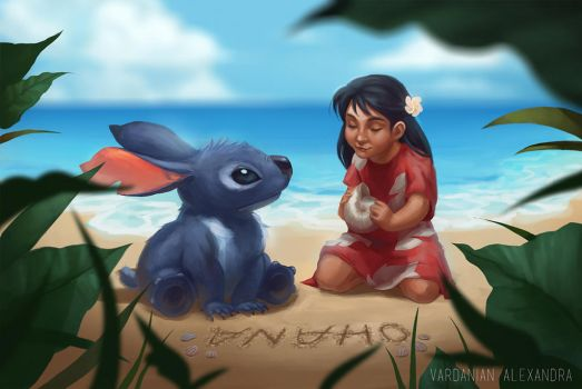Lilo And Stitch by Maaronn