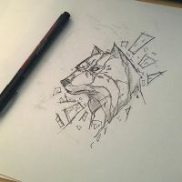 wolf design by Anny-D