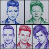 One Direction by artistiq-me