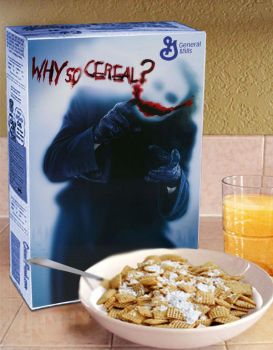 Why so Cereal? by ladypixelheart
