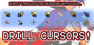 Drill Cursors by thelifeofabinder