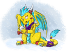 Thunderstorms Christmas by Anfani
