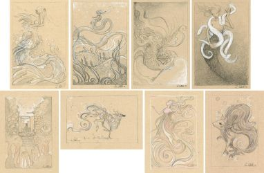 Sketches by shadowgirl