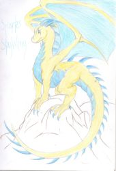 Sparky the SkyWing by Sheba987