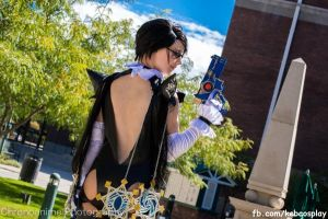 Bayonetta 2 - From Behind by xsakichanx