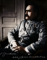 First Marshal of Poland by Julanna