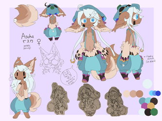 Asuka (blessed narehate/hollow) ref 2018 by SushPuppy