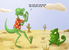 Rango vs. Pascal by Calick