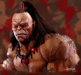 goro- Mortal Combat Finished by realdealluk