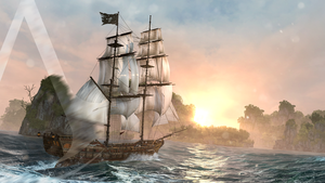 Assasin's Creed Black Flag - Sunset UltraHD by MHeimMarc