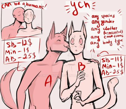 YCH auction (OPEN) by ChappyChu