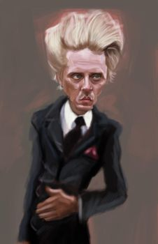 Christopher Walken Sketch by DoodleArtStudios