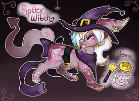 Spider Witch SoulFox - Auction (Closed) by peipaw