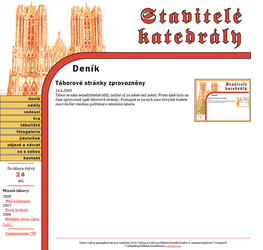 Website for Summer Camp 2009 by MatejCadil