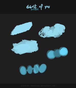 GHOST OF YOU Brushes by prythian-resources
