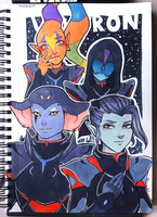 Galra Generals - Voltron by Didules