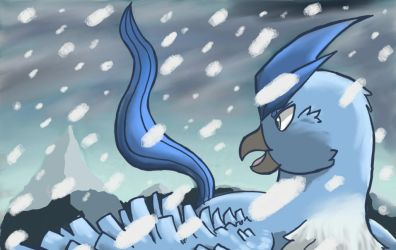 Articuno by Phineas-Cat