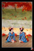 Maiko Dance by tensai-riot