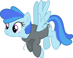 Storm OC pony (show accurate remake) by DJDavid98