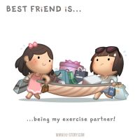 BFF Ep.04 Exercise Partner (Girl) by hjstory