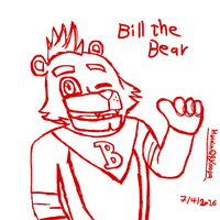 Bill the bear by HuswserStar