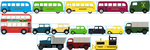 Generic Cars and Buses by Galaxy-Afro