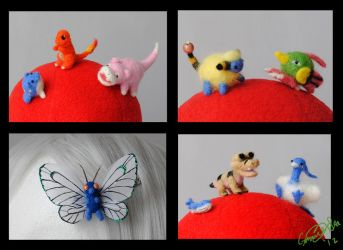 Pokemon Felties by Eyes5