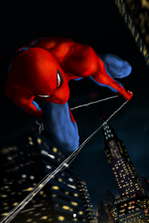 Spider-Man by DimaFisher