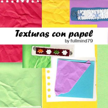 Textures 7: Texturas con papel by fullmind79