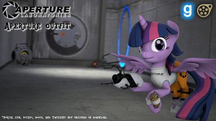 [DL] Aperture Outfit by MythicSpeed