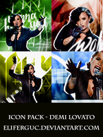 Icon Pack (1) - Demi Lovato by Eliferguc