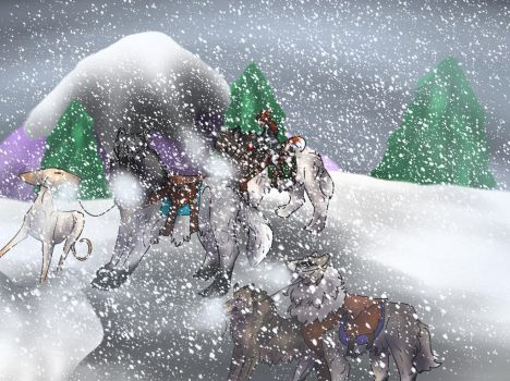 RoF- There is too much snow by SheltieJoy