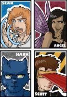 X-men art cards 2 by yamiswift