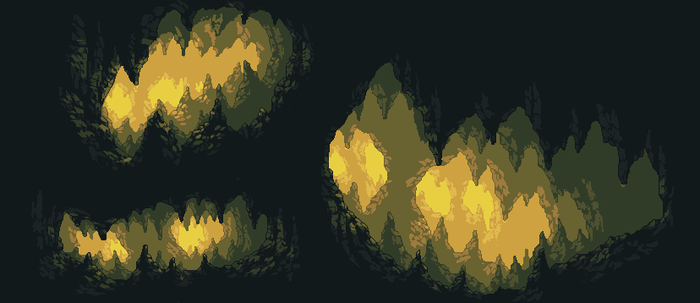 Cave Background by Pukahuna