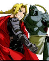 'E' for Elric Brothers by Mookyloo-Old