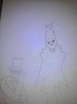 Death and Tuxedo Man by gmantb