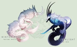 [AUCTION] Dragonkit - Winter's Advent [CLOSED] by sordid-dessert