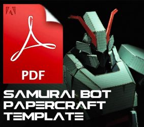 Samurai Bot PDFs Template with instructions by Loone-Wolf